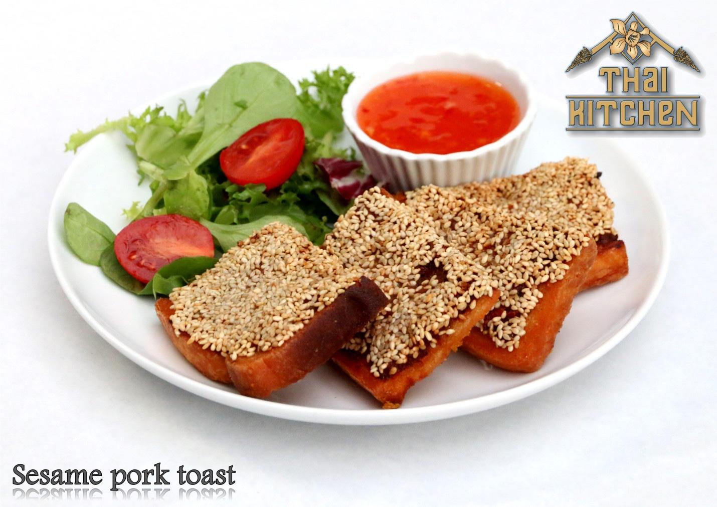 sesame pork toast recipe